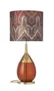 EBB & FLOW  - Lute Lampfot, rust/Guld, Guld bas