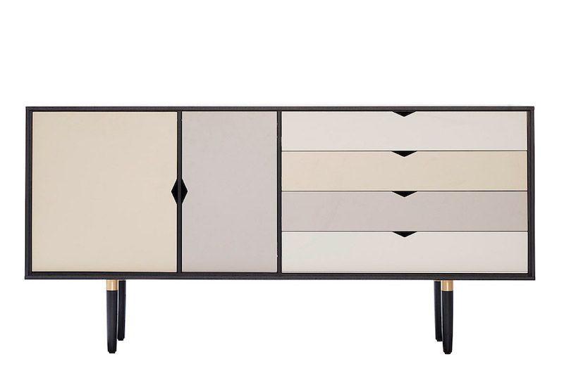 Andersen Furniture - S6 Skänk - Svartlackad