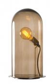 EBB & FLOW  - Glasdome till Speak UP! Lamp, Chestnut, Ø20