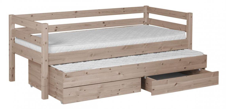 FLEXA Classic Barnsäng m. sänglådor - terra