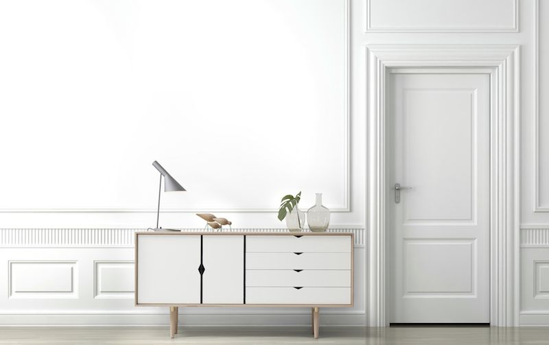 Andersen Furniture - S6 Skänk - Vitoljad ek/Vit