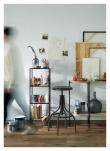 Kave Home - Staffan Hylla m. trådhyllor - Svart