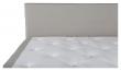 Furudal Kontinentalsäng Medium/Medium med 7 komfortzoner, Beige tyg, 160x200 