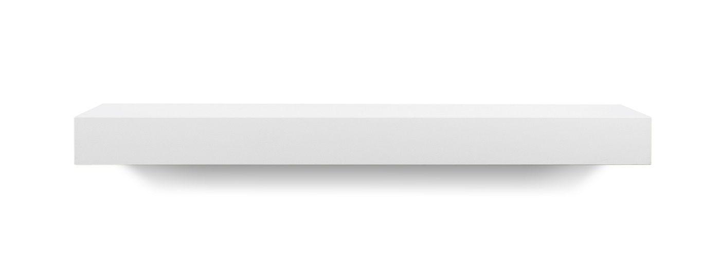 Balda Vägghylla, matt vit, 60x22