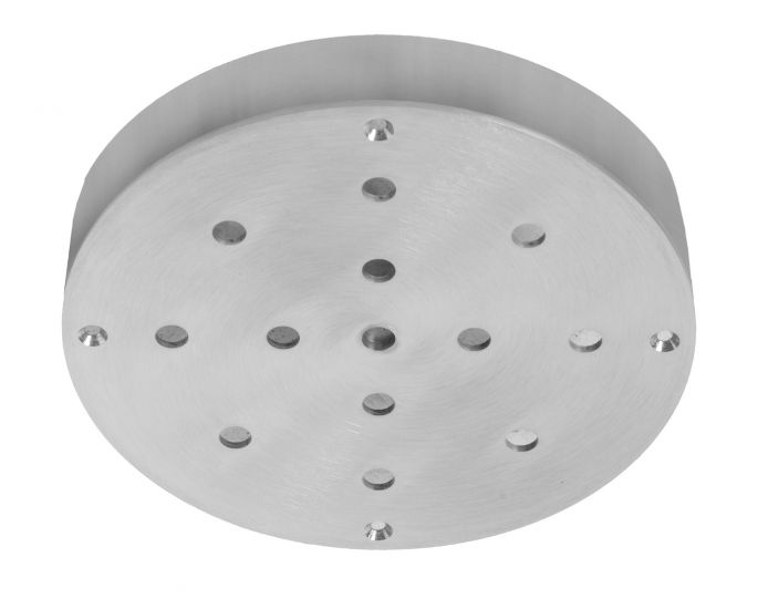 Ebb&Flow - Ceiling box, round, S, Silver