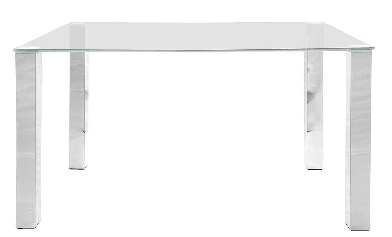 May Matbord 140x90 - Bordsskiva i härdat glas