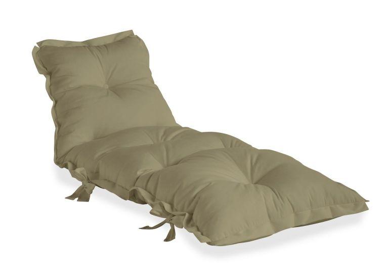 Sit&Sleep Out Futon madrass/stol - Beige