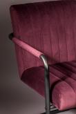 Dutchbone Stitched Matstol - Plommon