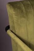 Dutchbone Stitched Matstol - Oliv
