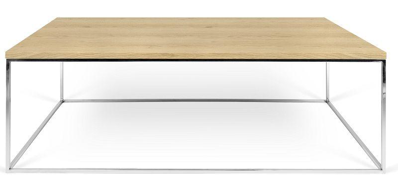 Temahome - Gleam Soffbord - Ljus trä 120 cm