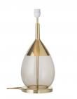 EBB & FLOW  - Lute Lampfot, Chestnut/Guld, Guld bas