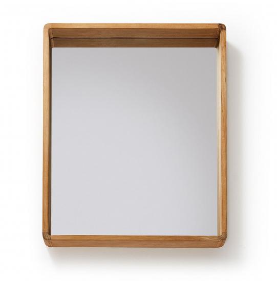 Kave Home - Sunday Spegel till badrum 80x65 - Teak