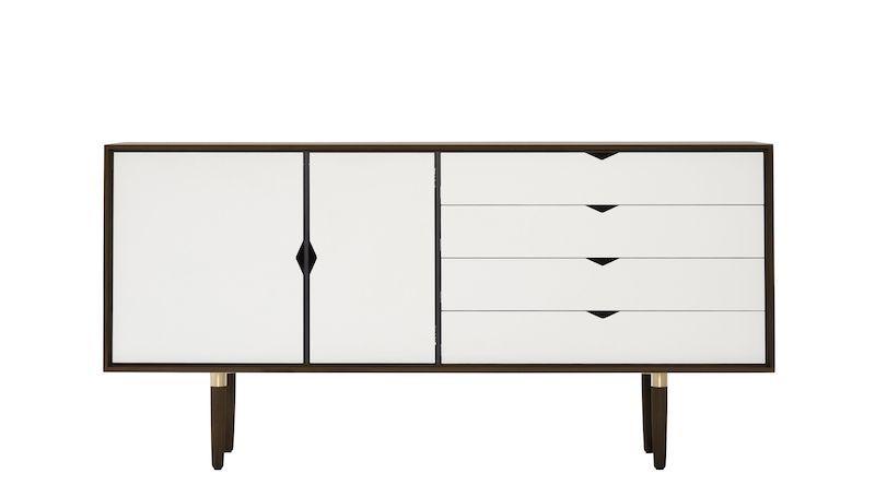 Andersen Furniture - S6 Skänk - Valnöt/Vit