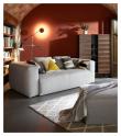 Kave Home - Blok 2-sits Soffa - Mörkgrå