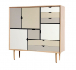 Andersen Furniture - S3 Skänk - Såpabehandlad ek
