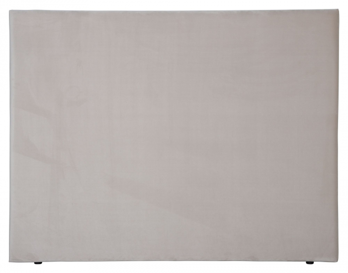Alvik sänggavel, Beige sammet, B:160