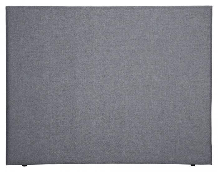 Alvik sänggavel, Mörkgrå sammet, B:120 