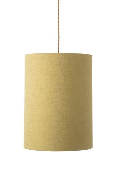 Ebb&Flow - Lampskärm, gul marl, Ø30,