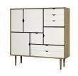 Andersen Furniture - S3 Skänk - Oljad ek/Vit