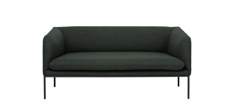 Ferm Living - Turn Soffa 2 Fiord - Solid Grön