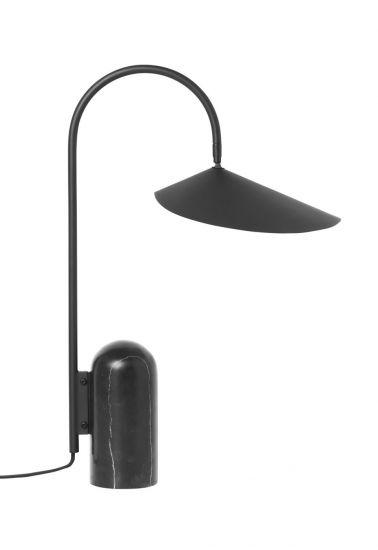 Ferm Living - Arum Bordslampa - Svart