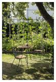 HOUE - CIRCUM Cafébord Ø 74 - Bambu/Stål